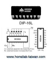 LED Blinking IC HK926A, DIP-16L