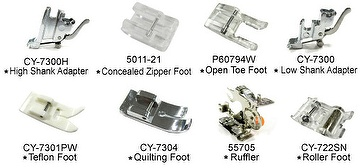 8 Pice Utility Feet Package