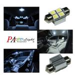 4 SMD 5050 Canbus c5w Festoon LED light 28mm For Auto Car interior Reading