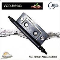 Steel Hinges with Mat Black color, OEM/ODM Orders are Welcome