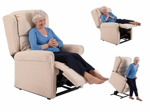 Indoor Electric Power Lift Up Elderly Massage Chair
