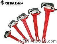 Rapid Pipe WrenchSelf Adjusting Pipe Wrench Casting Iron Handle  sc 1 st  Taiwantrade & INFINITOOLS CO. LTD. | Excellent Tools Supplier on Taiwantrade.com