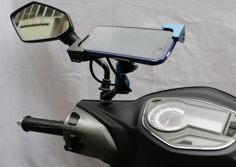FT-1 Mobile device motorcycle mount