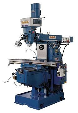 皮帶式立銑頭 + 齒輪式橫銑頭