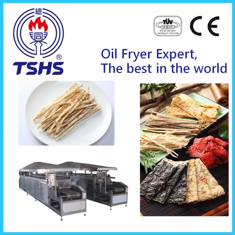 New Product Whole Automatic Industrial Fish Shred Factory Equipment