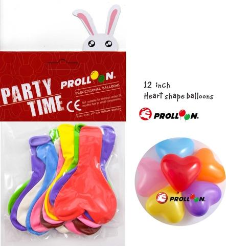 12 Zoll Herz Ballons Party Ballon Pack