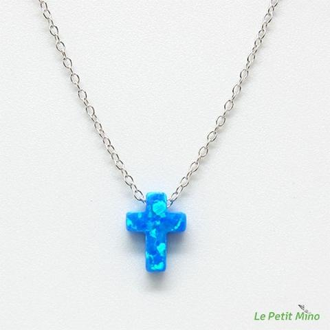 Collarbone Clavicle Cross Necklace Sterling Silver 2