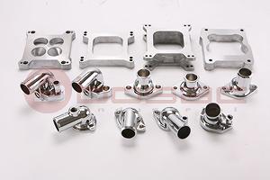 Taiwan Carburetor Spacers, Carburetor Adapter, Water Neck, Chevy