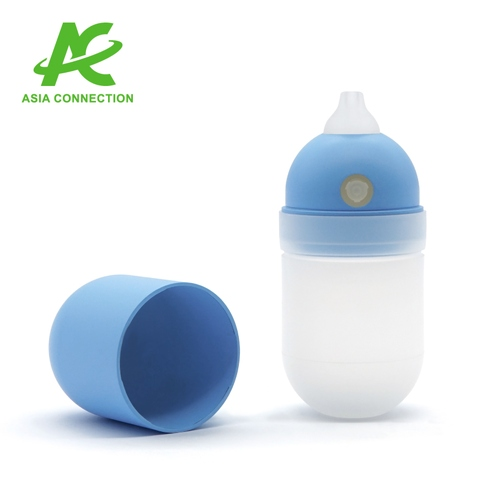 Infant Auto-Bulb Manual Nose Suction Aspirator with Short Tip