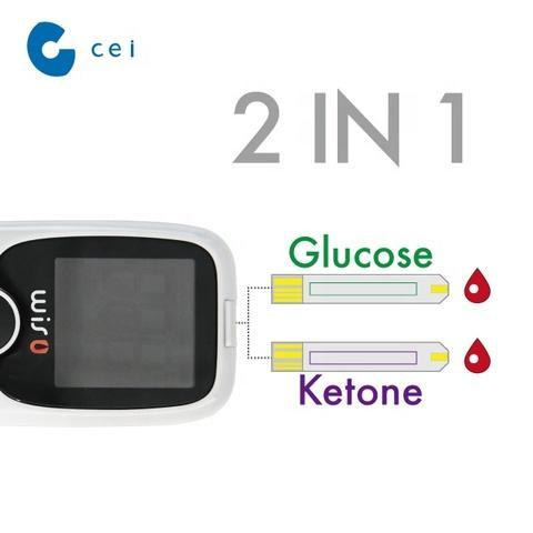 Digital Blood Monitoring Blood Glucose & Ketone