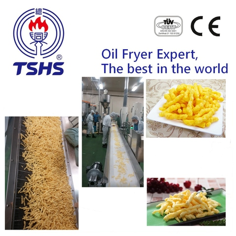 2017 Taiwan Industrial Automatic Corn Stick Frying Plant