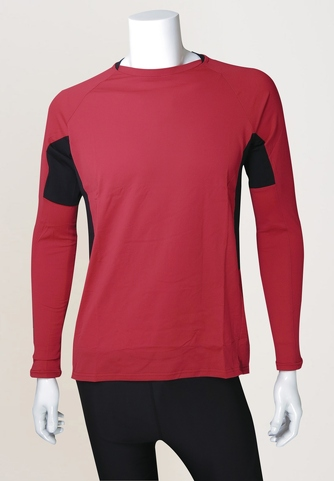 Men's Long-sleeves Polypropylene Outdoor Top