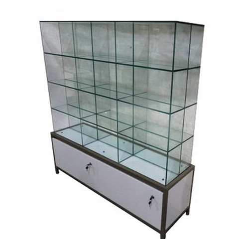 Led Lighting Jewelry Showcase Glass Display Cabinets Abba