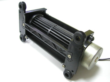 Brushless DC Motor Cross Flow Fan