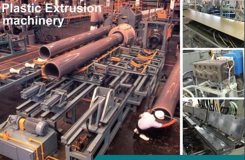 Plastic Extrusion Machine Pvc Profile Extrusion Machine