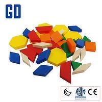Pattern blocks 1cm