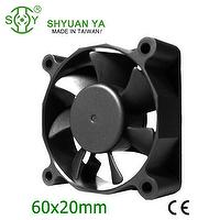 Powerful 5v 12v 24v dc cooling fan 60mm axial fan