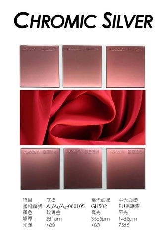 電鍍銀塗料-玫瑰金