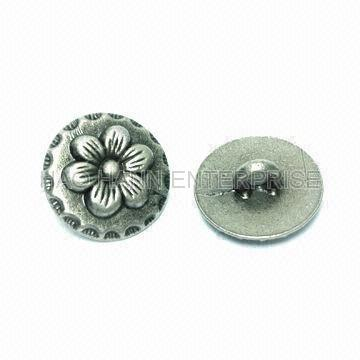 Metal Buttons , Zinc Alloy or Other Materials