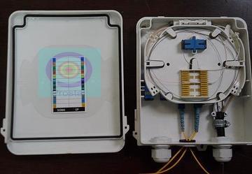 IP65 FTTH Box: 8-Port Fiber Termination Box