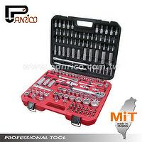 155pcs Auto Repair Socket Set Automotive tool hand tool