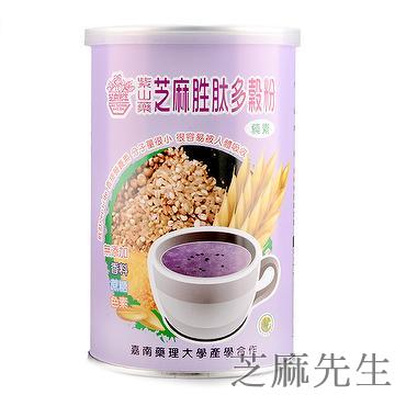 Purple yam sesame peptide cereals powder