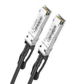 DAC Direct attached cable 2m AWG30-24 40G QSFP