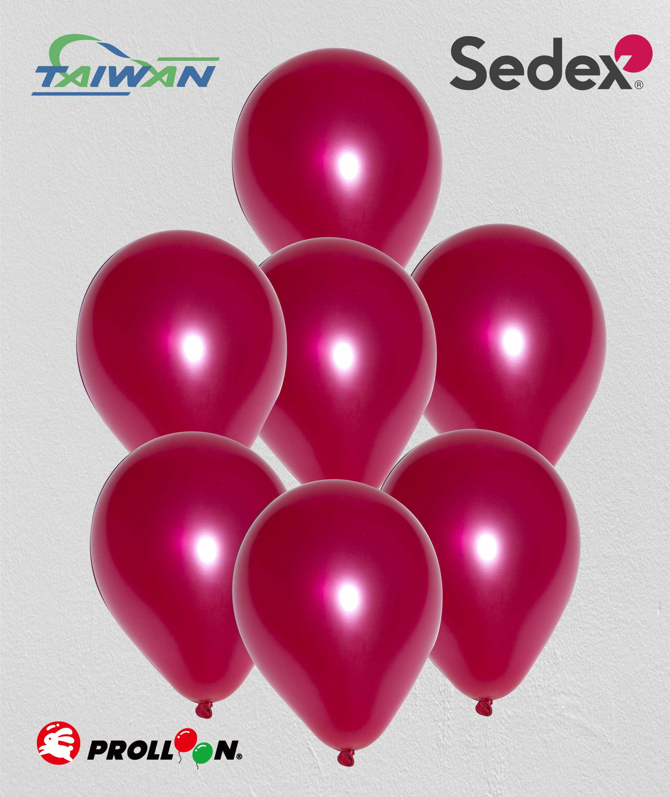 Metallic Bright Red Balloon Garland 100 Pack 12 Inch Latex Balloons Wedding Anniversary Love Party Decorations Taiwantrade Com