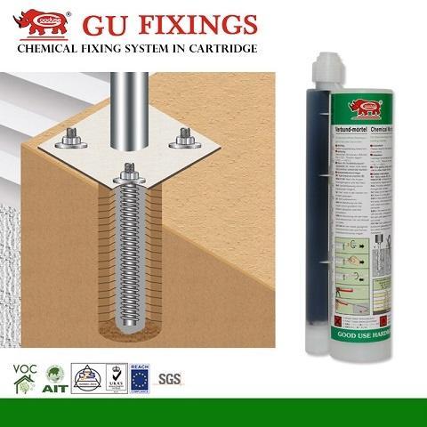 Medium Loading Adhesive Cartridge Chemical Mortar