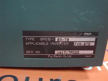 FUJI FVR008B7S-2 W/ OPC III-BS-TB