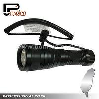 XML U2 LED Rechargeable Diving Flashlight High Power Diving Torch Submersible LED Light