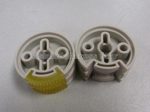 plastic roller with rubber