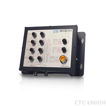 Industrial EN50155 Ethernet Switch - ITP-G802TM