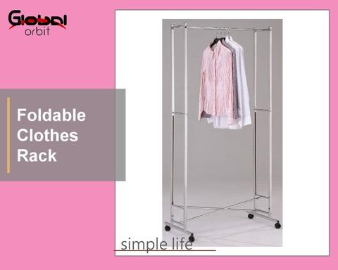 Taiwan Folding Clothes Rack Garment Rack Hanger Drying Rack Home