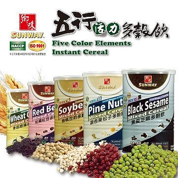 Five Color Elements Instant Cereal