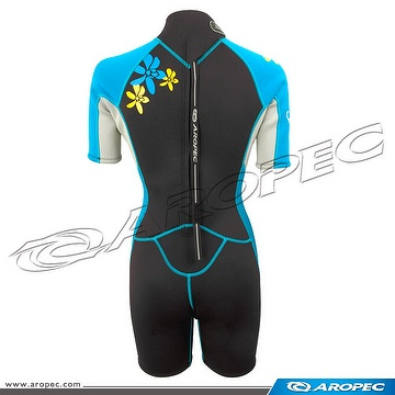 2.5mm Neoprene Shorty Lady, Wetsuit, Diving Suit,
