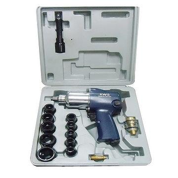 "Tools, Air Tools, Wrench, Air Impact Wrench, Imapct Wrench Set, 1/2""DR.AIR IMPACT WPENCH SET"