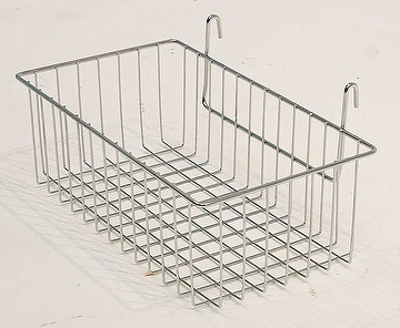 35/45cm Hanging Basket For Organization For Wire Shelving Rack
