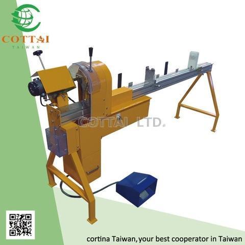 Cottai Roller Fabric Cutting Machine Thin Blade Cutter