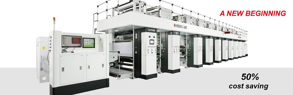 rotogravure, flexible packaging, hsing wei machine taiwan