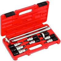 "Socket Set, Hand Tool Kit, 1/2""Sq. Drive, Tx-Star, Universal"