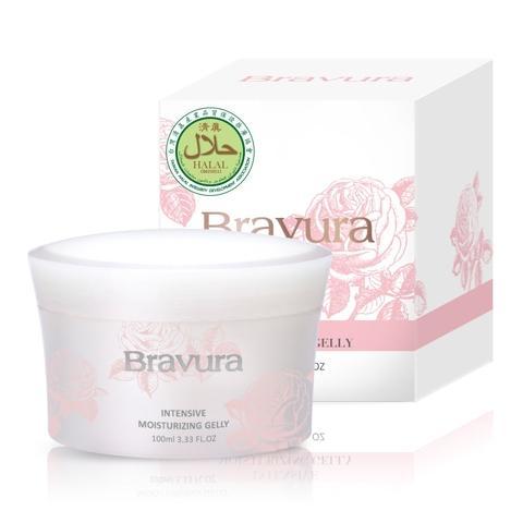Taiwan Halal Bravura Intensive Moisturizing Gelly | BRAVURA