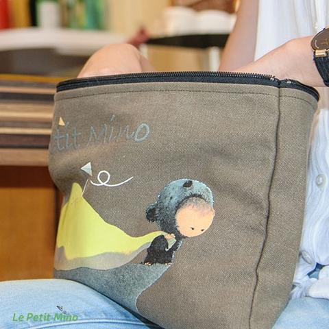 Handmade Zipper Bag Mino Pull A Bag