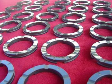 Taiwan Pressureless sintered SiC bushing bearing parts for pump