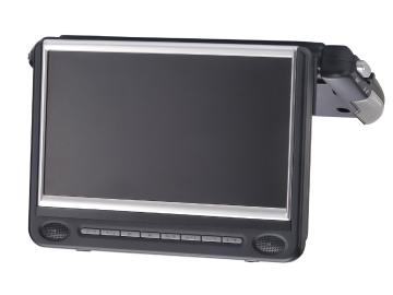 "9"" Detachable Flipdown DVD Monitor"