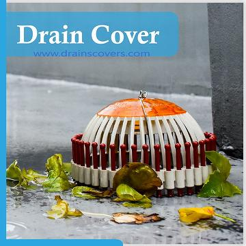Taiwan DC-D1810A Useful Plastic Green Roof Drain Protection Cover
