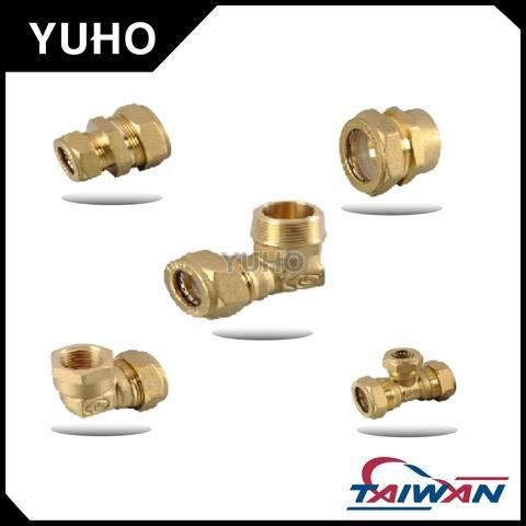 "Brass Fitting - 1/2"", 3/4"", 1"", Female & Male"