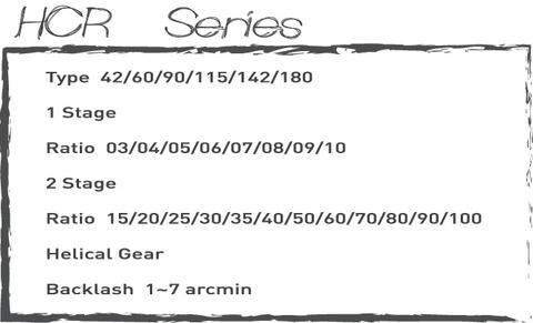 HCR Series-Gear Reducer