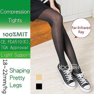New Sheer Tights Far Infrared Compression Stockings 18-22mmHg