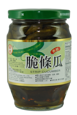 STRIP CUCUMBER,agricultural foods canned vegetable,